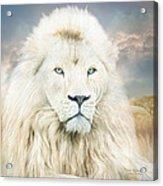 White Lion - Spirit Of Goodness Acrylic Print
