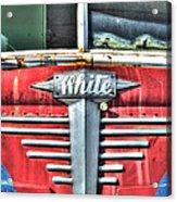 White Motor Company Highway Post Office U. S. Mail No 1 Acrylic Print