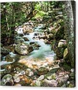 White Mountains Stream Acrylic Print