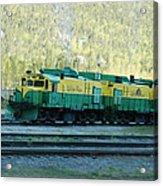 White Pass Railroad 2 Acrylic Print