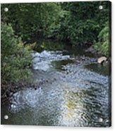 White Plains Stream Acrylic Print