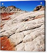 White Pocket 3 Acrylic Print