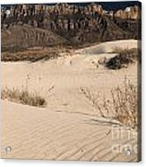 White Sand Below Acrylic Print