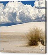 White Sands Cross Acrylic Print