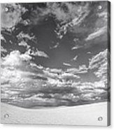White Sands Drama Acrylic Print