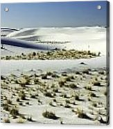 White Sands National Monument-098 Acrylic Print