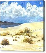White Sands New Mexico U S A Acrylic Print