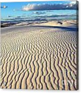 White Sands Of New Mexico Acrylic Print