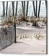 White Sands Of Pensacola Beach Acrylic Print
