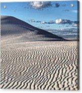 White Sands Patterns Acrylic Print