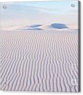 White Sands Serenity Acrylic Print