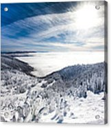 Whitefish Inversion Acrylic Print
