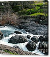 Whitewater At Bear Hole Acrylic Print