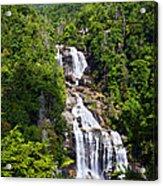 Whitewater Falls Acrylic Print by Susan Leggett