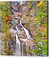 Whitewater Falls Vertical Acrylic Print