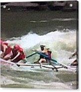 Whitewater Rafting Acrylic Print