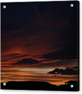 Whitewater Sunset Acrylic Print