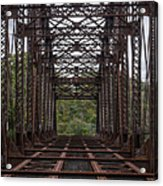 Whitford Railway Truss Bridge Acrylic Print