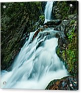 Waterfall - Whiting Downrush Acrylic Print