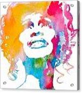 Whitney Houston Acrylic Print