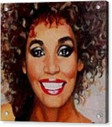 Whitney Acrylic Print by Shirl Theis