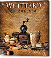 Whittard Of Chelsea Tea Coffee And Drawings Acrylic Print