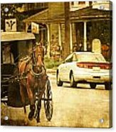 Who Are The Amish Acrylic Print