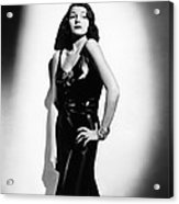 Who Killed Gail Preston, Rita Hayworth Acrylic Print