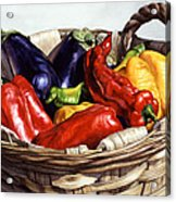 Who Wants To Blister The Peppers Acrylic Print