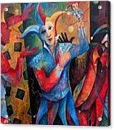 Who's The Fool. Acrylic Print by Susanne Clark
