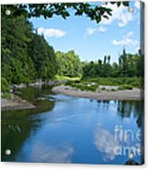 Why Is It Called Mad River Acrylic Print