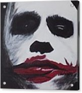Why So Serious? Acrylic Print