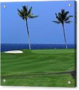 Why Would You Golf In Hawaii Acrylic Print