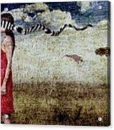 Why Yes Emily I Do Like Giraffes Acrylic Print by Andre Giovina
