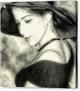 Wiccan Lady Acrylic Print