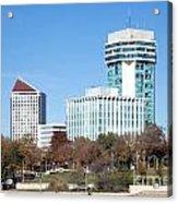 Wichita Skyline Acrylic Print