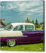 Wicked 1955 Chevy Profile Acrylic Print