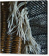 Wicker And Wool Acrylic Print