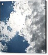 Wicker Clouds Acrylic Print