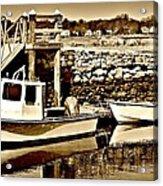 Wickford Marina Acrylic Print