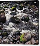 A River In The Wicklow Mountains, Ireland. Vision # 2 Acrylic Print