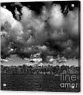 Wid Open Lake Acrylic Print