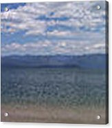 Wide Pan At Sandpoint Acrylic Print