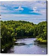 Wide River Acrylic Print by Jason Brow