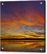 Widescreen Sunset Acrylic Print