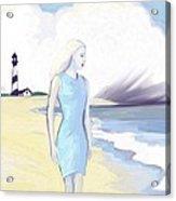 Widow By The Sea Acrylic Print