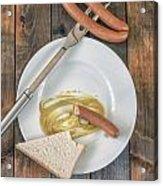 Wieners Acrylic Print by Joana Kruse