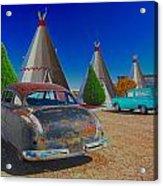 Wigwam Motel Acrylic Print