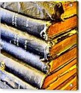 Wikipedia Origins Acrylic Print