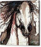 Wild Arabian Horse Acrylic Print